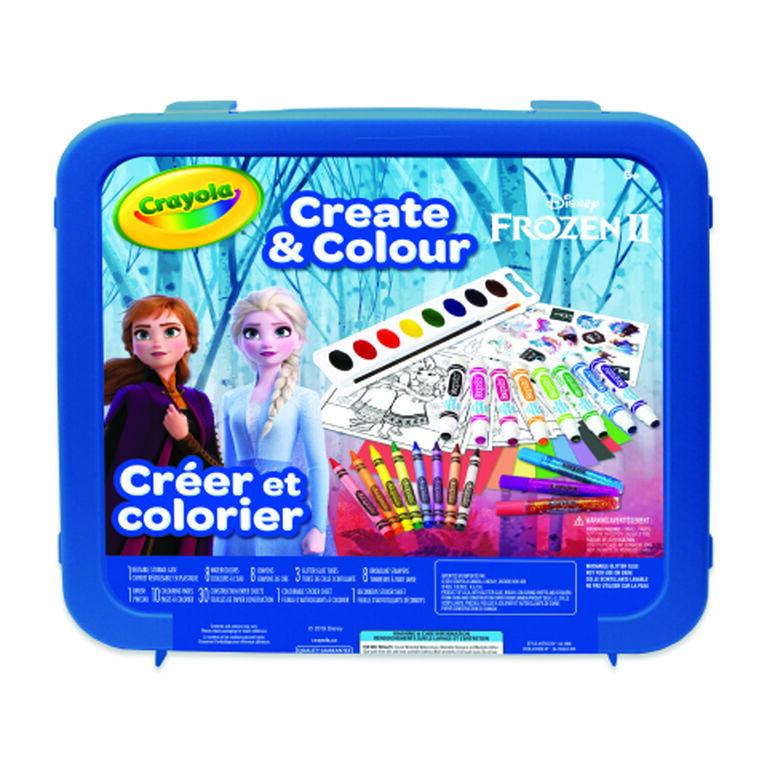 Crayola Create & Colour Case Disney Frozen II