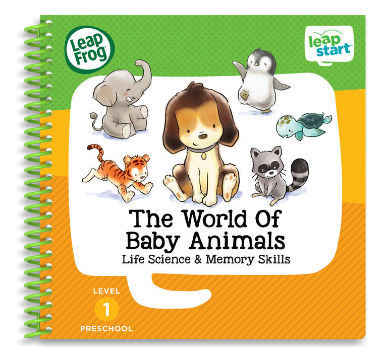 LeapFrog LeapStart The World of Baby Animals - Activity Book - English Edition