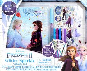 Frozen Glitter Sparkle Act Set - English Edition