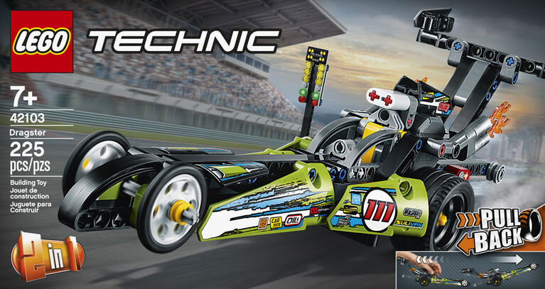 LEGO Technic Le dragster 42103