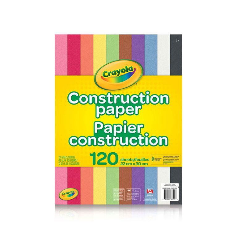 Crayola Construction Paper 120 Sheets