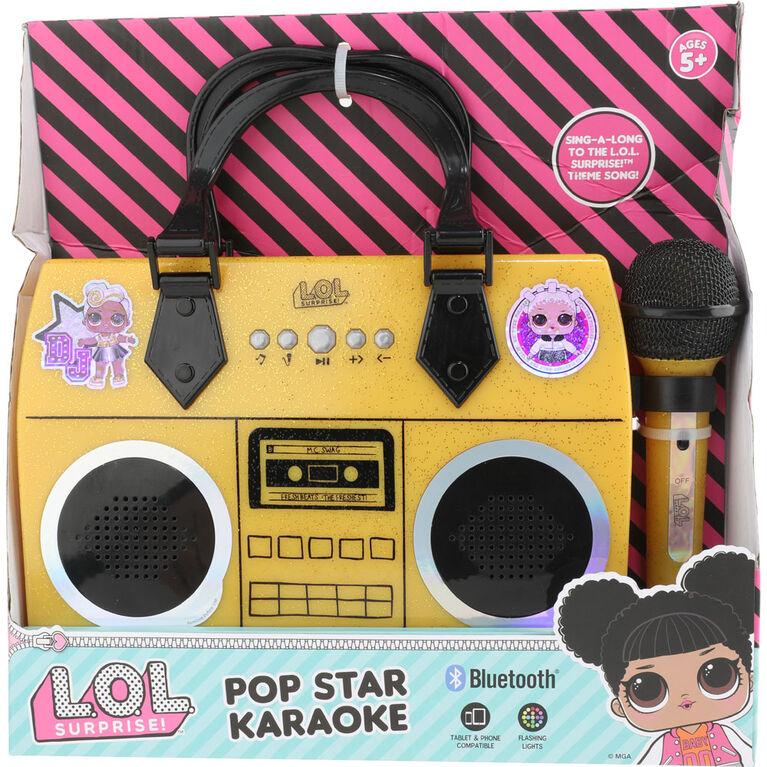 L.O.L. Pop Star karaoke