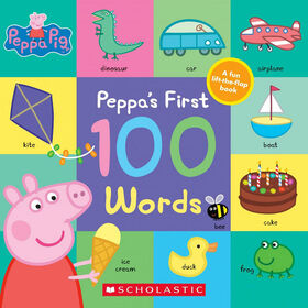 Peppa's First 100 Words - Édition anglaise