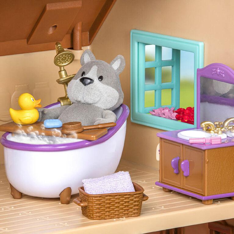 Li'l Woodzeez, Bathroom & Laundry Playset