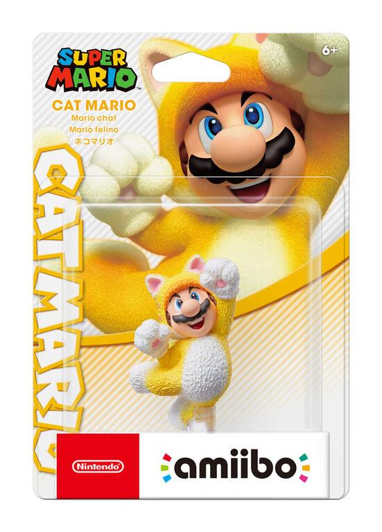 Amiibo Cat Mario-Super Mario Series