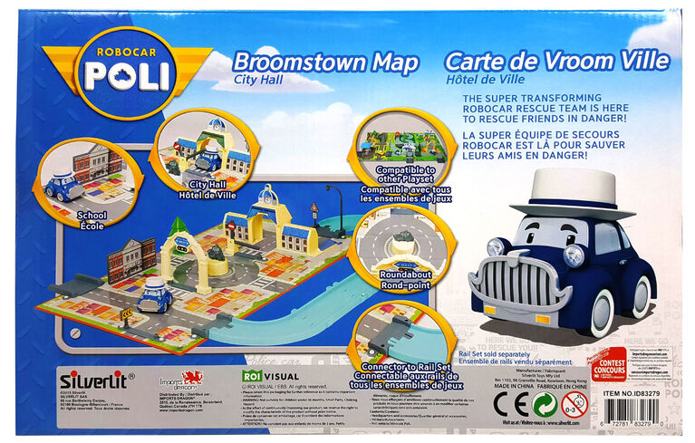 Robocar Poli - Brooms Town Map: City Hall