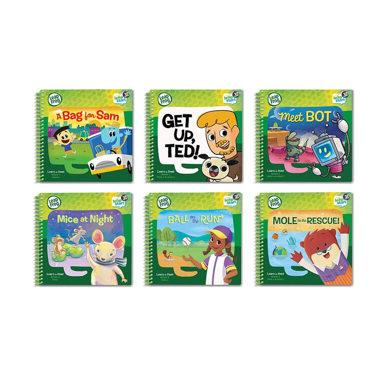 LeapFrog LeapStart 3D Learn to Read Volume 1 - English Edition
