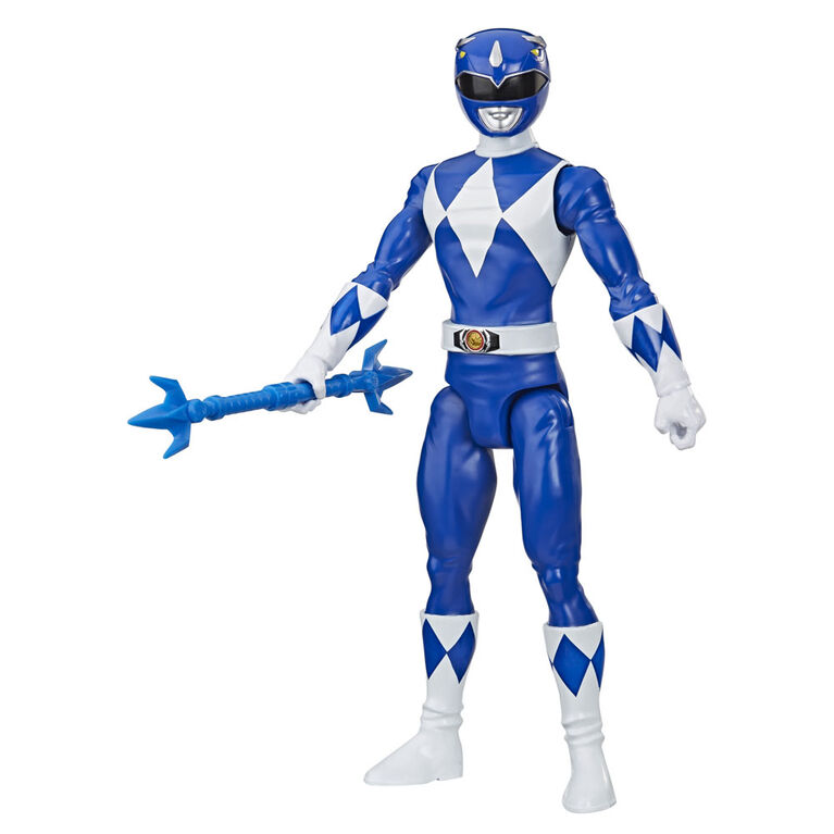 Power Rangers Mighty Morphin Blue Ranger 12-Inch Action Figure