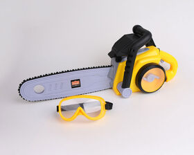 Just Like Home Workshop - Power Chainsaw with Goggles