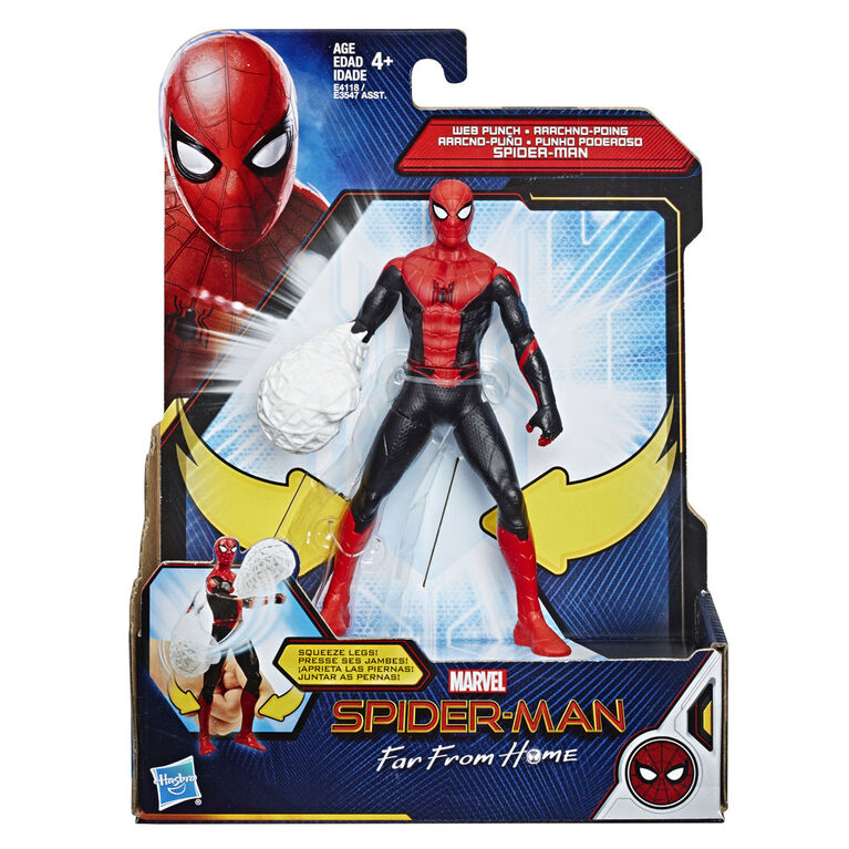 Spider-Man: Far From Home - Figurine jouet du héros Spider-Man