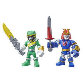 Playskool Heroes Power Rangers 2-Pack, Green Ranger and Ninjor