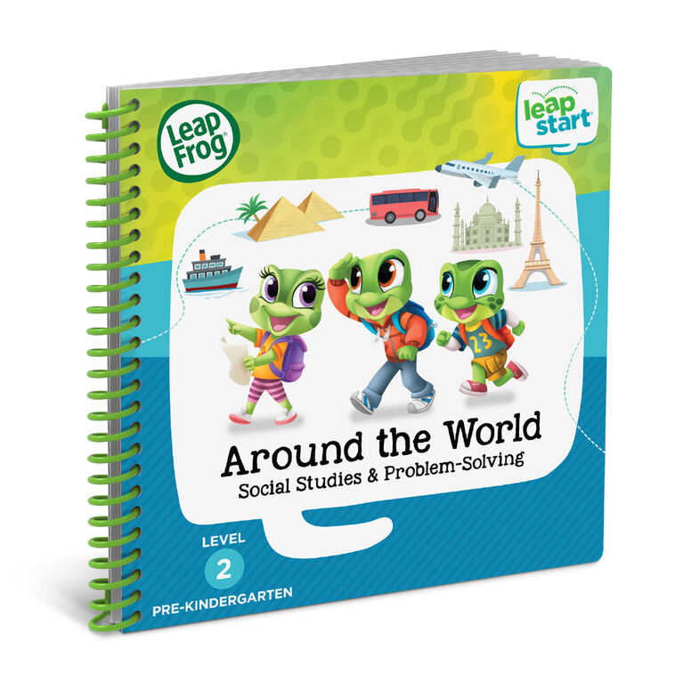LeapFrog LeapStart Around the World Social Studies & Problem-Solving - Édition anglaise