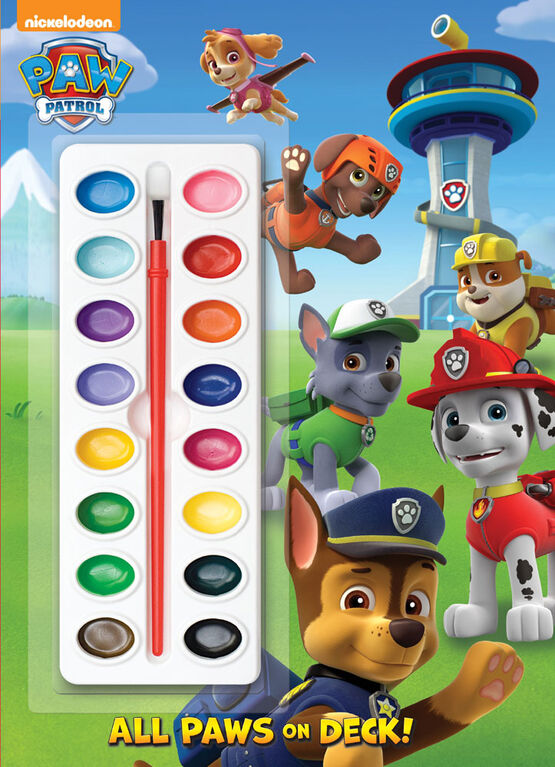 All Paws on Deck! (Paw Patrol) - Édition anglaise