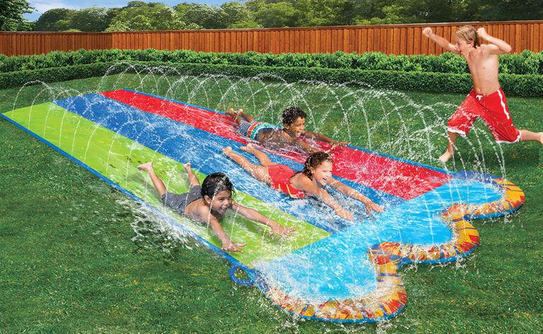 Triple Racer Water Slide