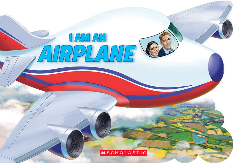 Scholastic - I Am An Airplane! - English Edition