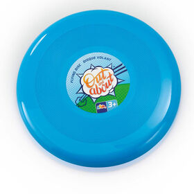 """Out and About 10"""" Flying Disc Blue - R Exclusive - English Edition"""