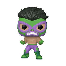 Hulk El Furioso Funko Pop! Vinyl Bobble-Head – Marvel Lucha Libre Edition