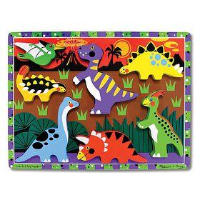 Melissa & Doug - Dinosaurs Chunky Puzzle