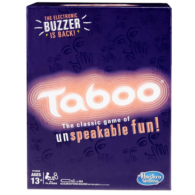 Hasbro Gaming - Taboo Game - English Edition - styles may vary