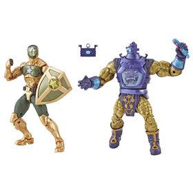 Série Marvel Legends - Duo chef suprême Capitaine America et Arnim Zola. - Notre Exclusivité