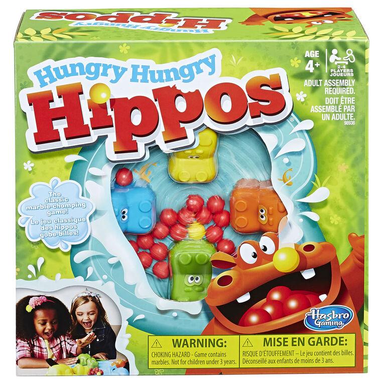 Hasbro Gaming - Hungry Hungry Hippos