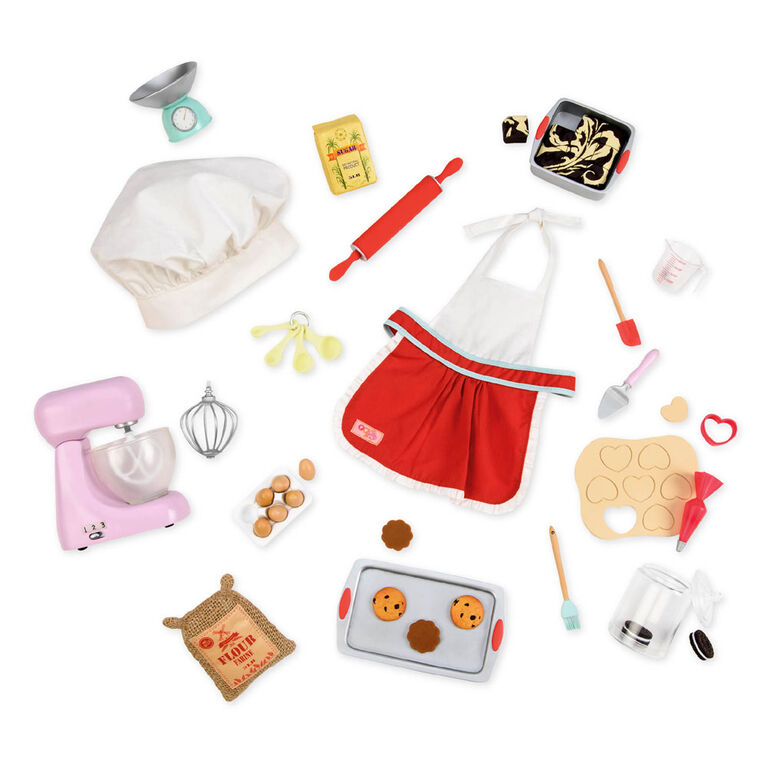 Our Generation, Master Baker Accessory Set for 18-inch Dolls