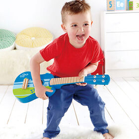 Guitare, Bleue.