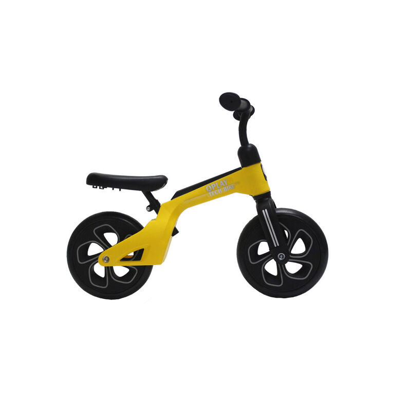 QPlay Balance Bike - Yellow