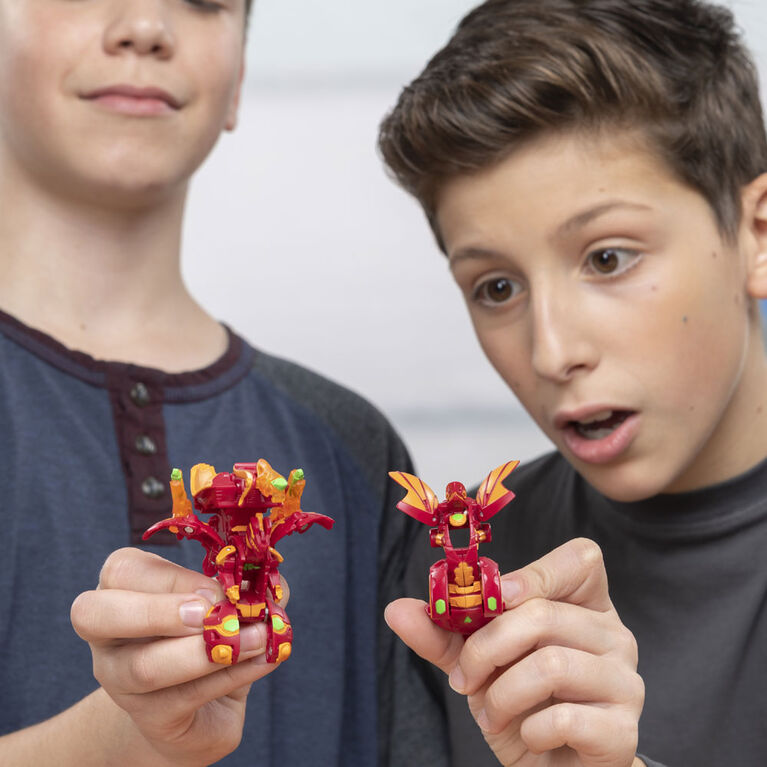 Bakugan, Nillious, 2-inch Tall Armored Alliance Collectible Action Figure and Trading Card