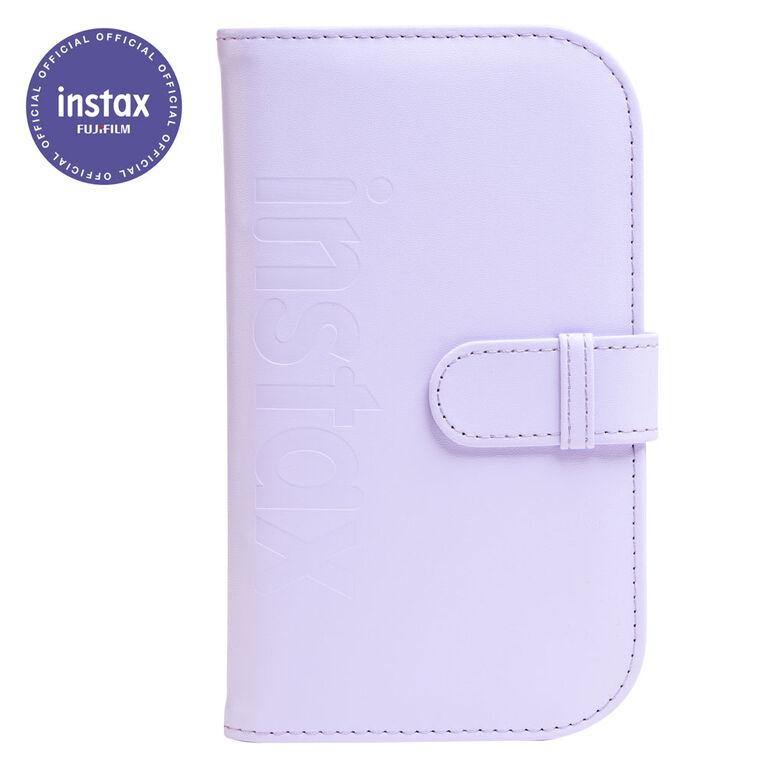 Fujifilm INSTAX MINI Album- Lilac Purple