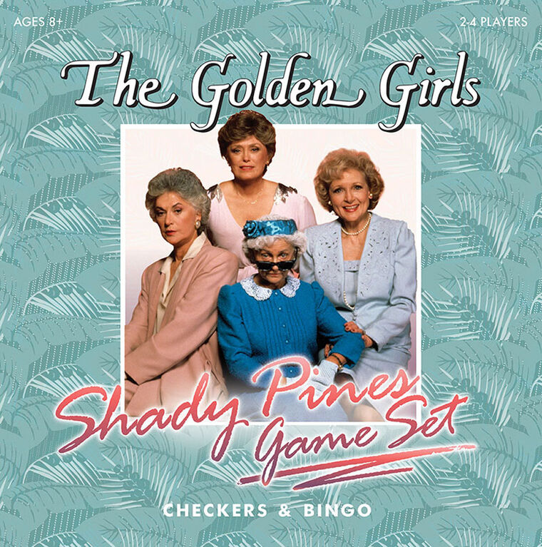 The Golden Girls Shady Pines Game Set - English Edition