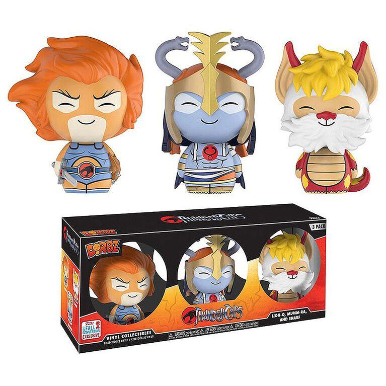 Funko Dorbz Thundercats Lion-O, Mumm-Ra & Snarf (Toys R Us Exclusive) 3-Pack Vinyl Figures - R Exclusive