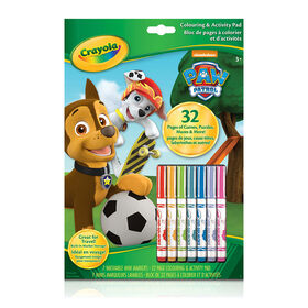 Colouring & Activity Book, Paw Patrol