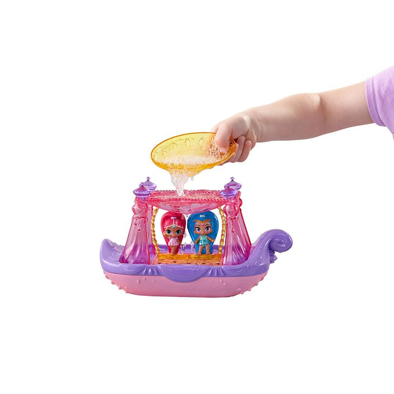 Fisher-Price Shimmer and Shine Swing & Splash Genie Boat