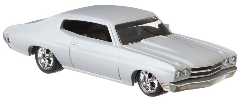 Hot Wheels 1970 Chevelle SS Vehicle, Grey