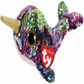 Ty Calypso   Sequin Narwhal reg