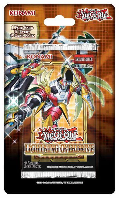 Yu-Gi-Oh! Lightning Overdrive Blister - English Edition
