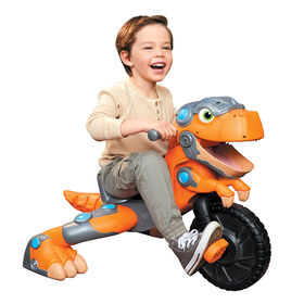 Little Tikes Chompin' Dino Trike, Interactive Dinosaur Ride-on Toy for Ages 3+
