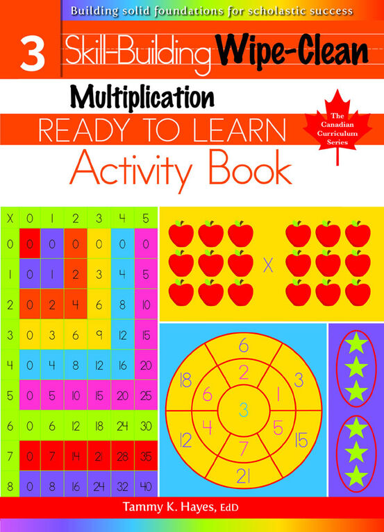 Multiplication Wipe Clean - English Edition