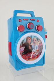 Système de karaoké Frozen II Lumière magique avec Bluetooth