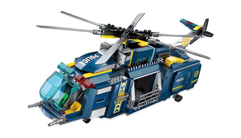 Dragon Blok: Police Jungle Patrol - Deluxe Headquarters