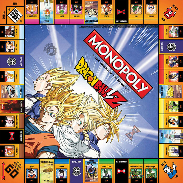 Monopoly Game: Dragon Ball Z Edition