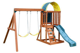KidKraft Andorra Wooden Swing Set