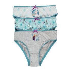 Disney Sous-vêtements Filles Paquet de 3 -La Reine Des Neiges II  - Taille 6