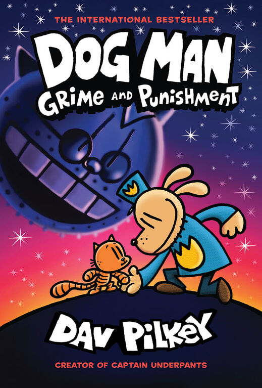 Scholastic - Dog Man: Grime and Punishment - Édition anglaise