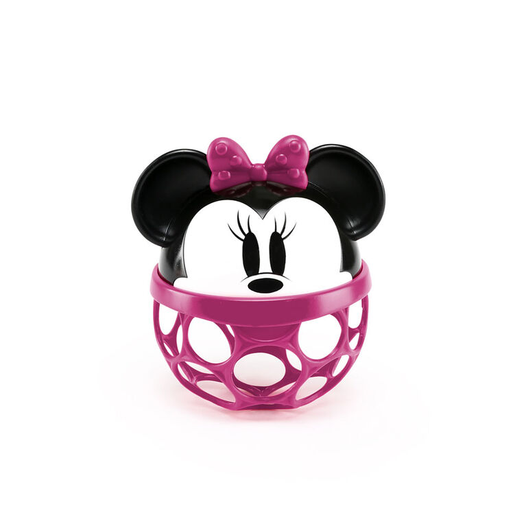 Disney Baby Minnie Mouse Rattle Along Buddy Easy-Grasp Toy
