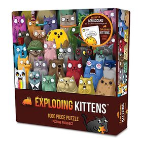 Exploding Kittens: Picture Purrfect 1000 Piece Puzzle