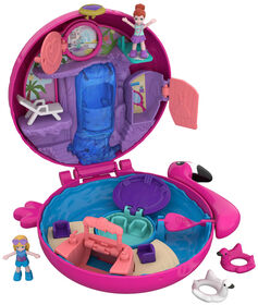 Polly Pocket - Grand Monde minuscule - Flamant Rose