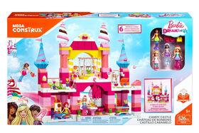 Mega Construx - Barbie - Dreamtopia - Coffret de jeu Château de bonbons