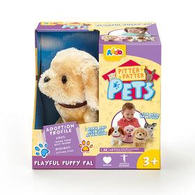 Assortiment de chiots Pitter Patter Pets Playful Puppy Pal - jaune.